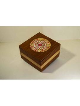 caixa com mandala
