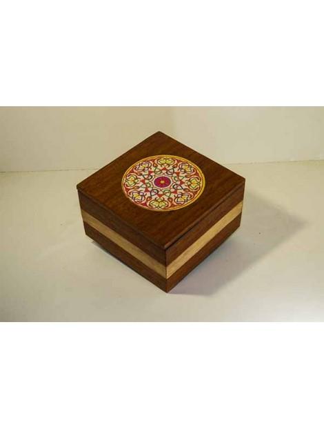 box with mandala