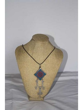Necklace with mandala