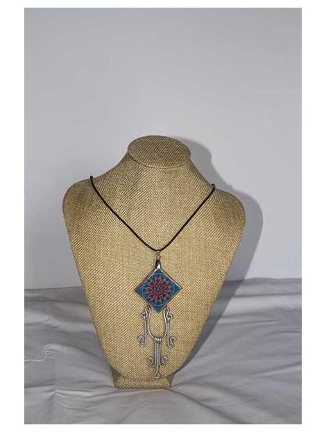 Necklace with mandala
